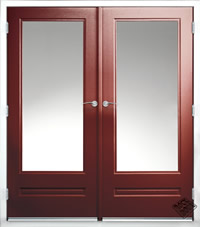 French door Example 1